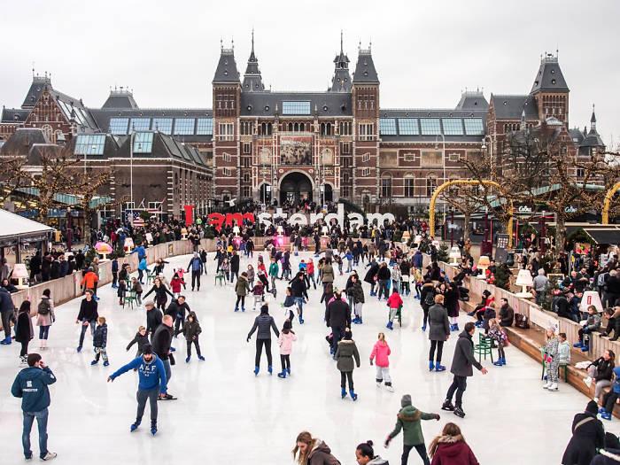 Amsterdam en diciembre