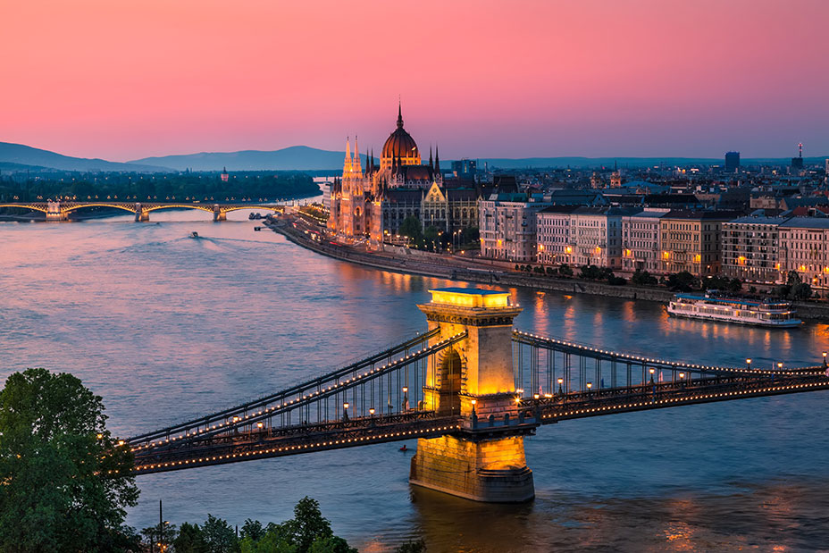 budapest Escapadas románticas Europa fin de semana