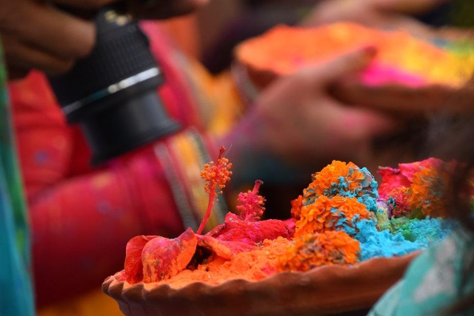 Colores Holi India significado