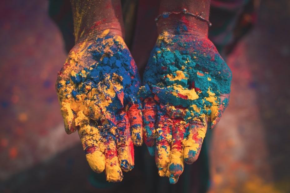 Colores holi festival india
