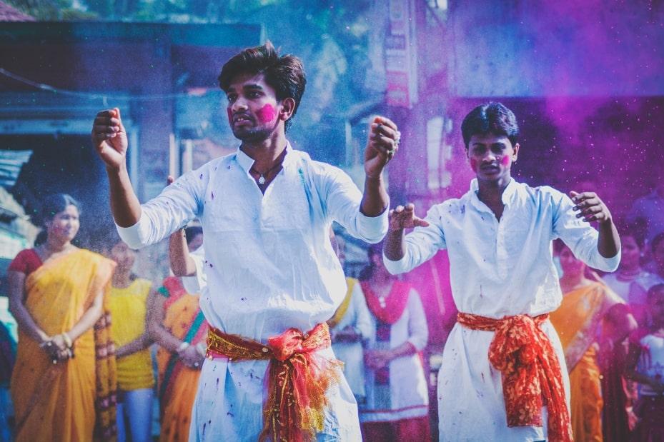 Holi festival tradiciones india