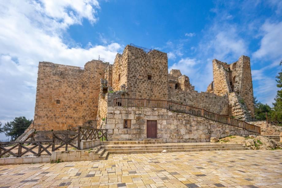 castillo de Ajlun jordania