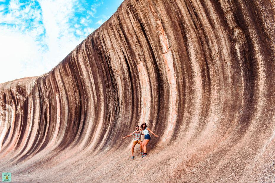 wave rock australia
