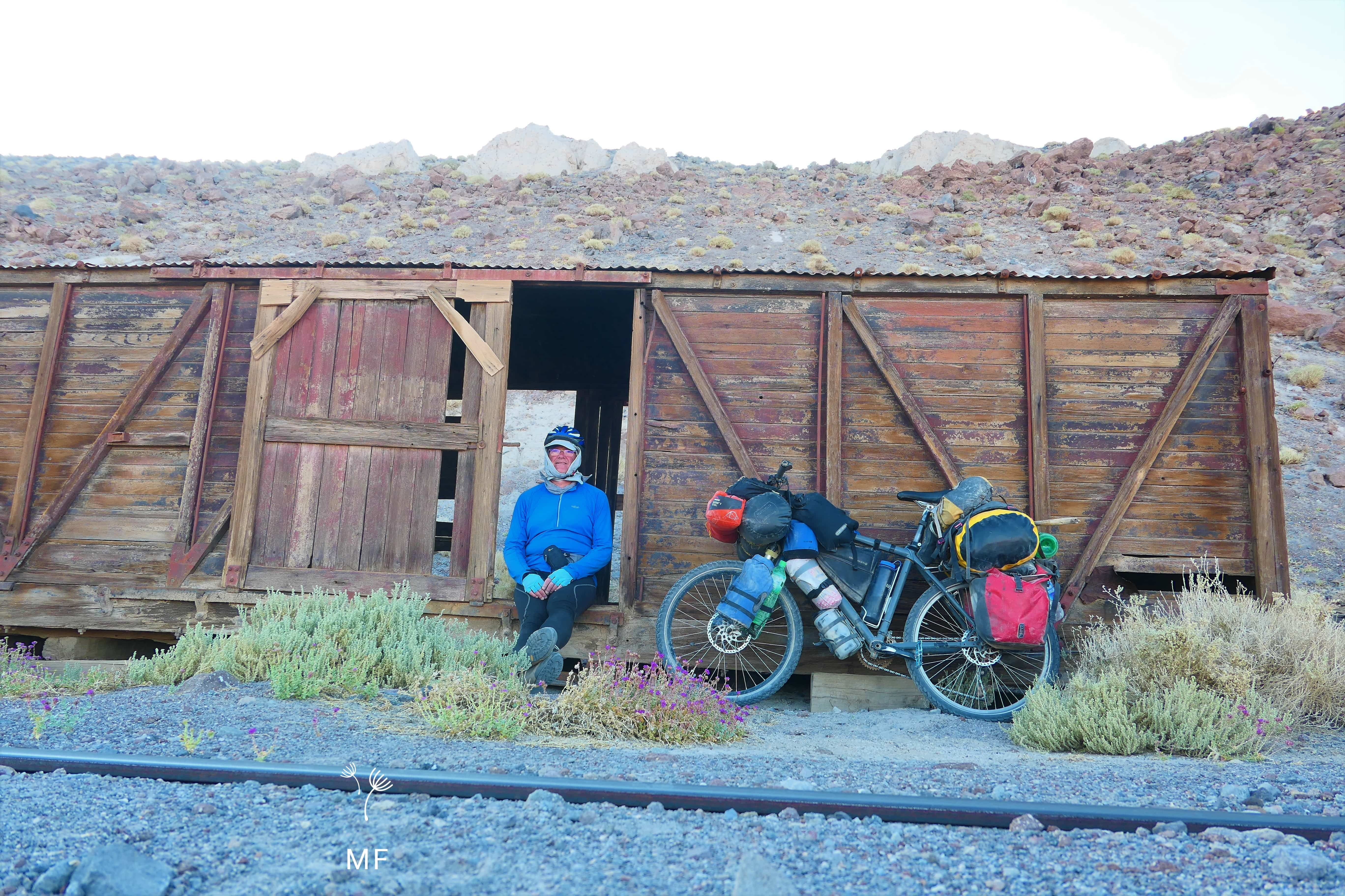 Ruta en bici Chile