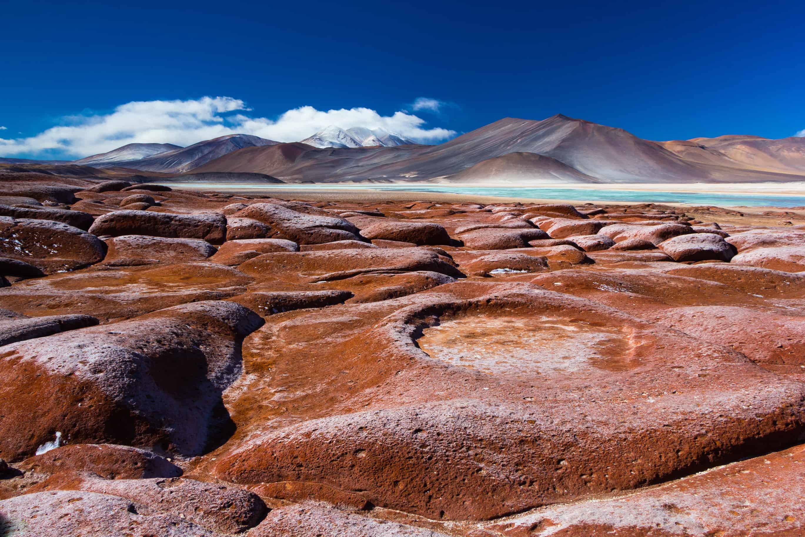 Viajar al desierto de Atacama | piedras rojas atacama