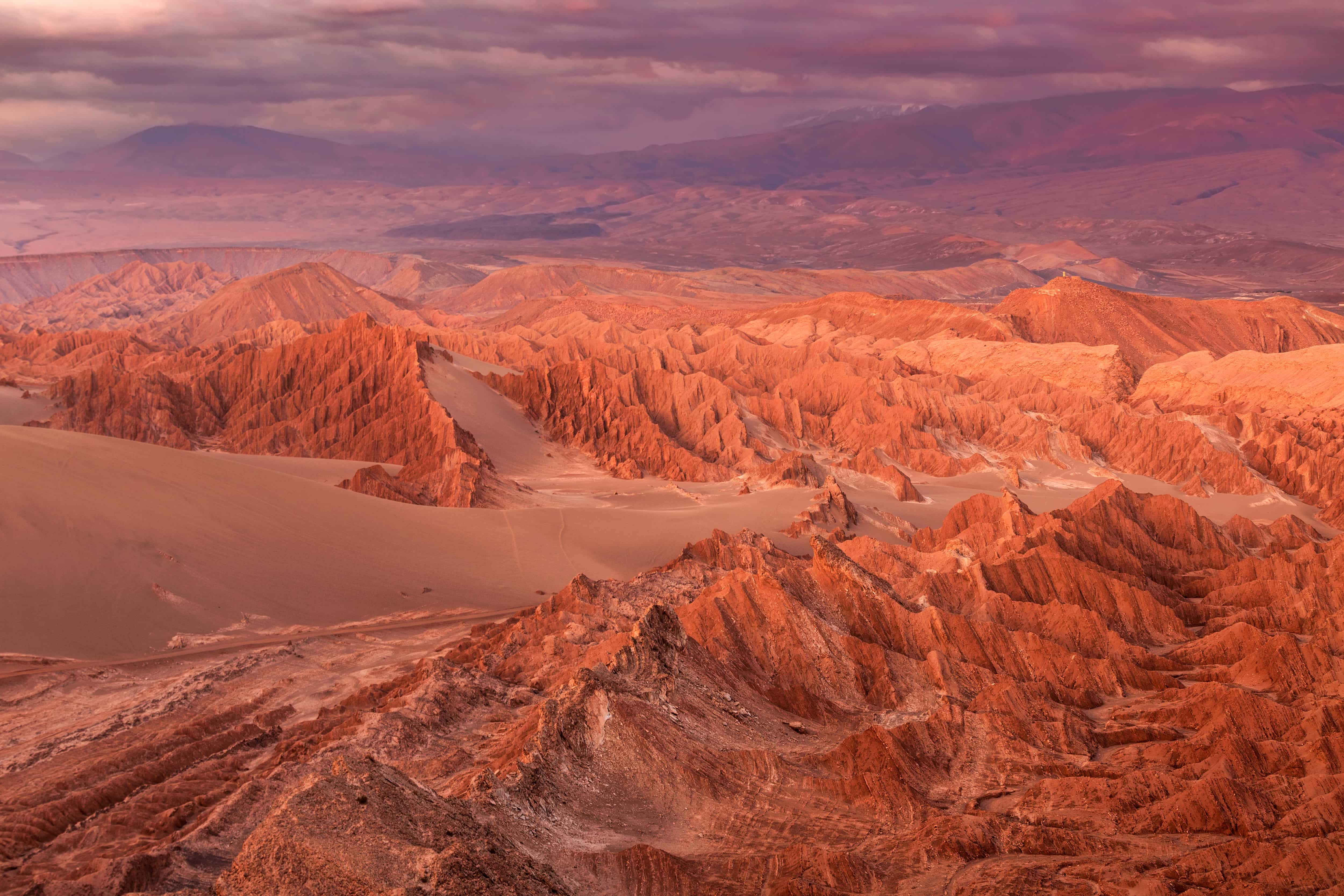 valle de marte Desierto Atacama
