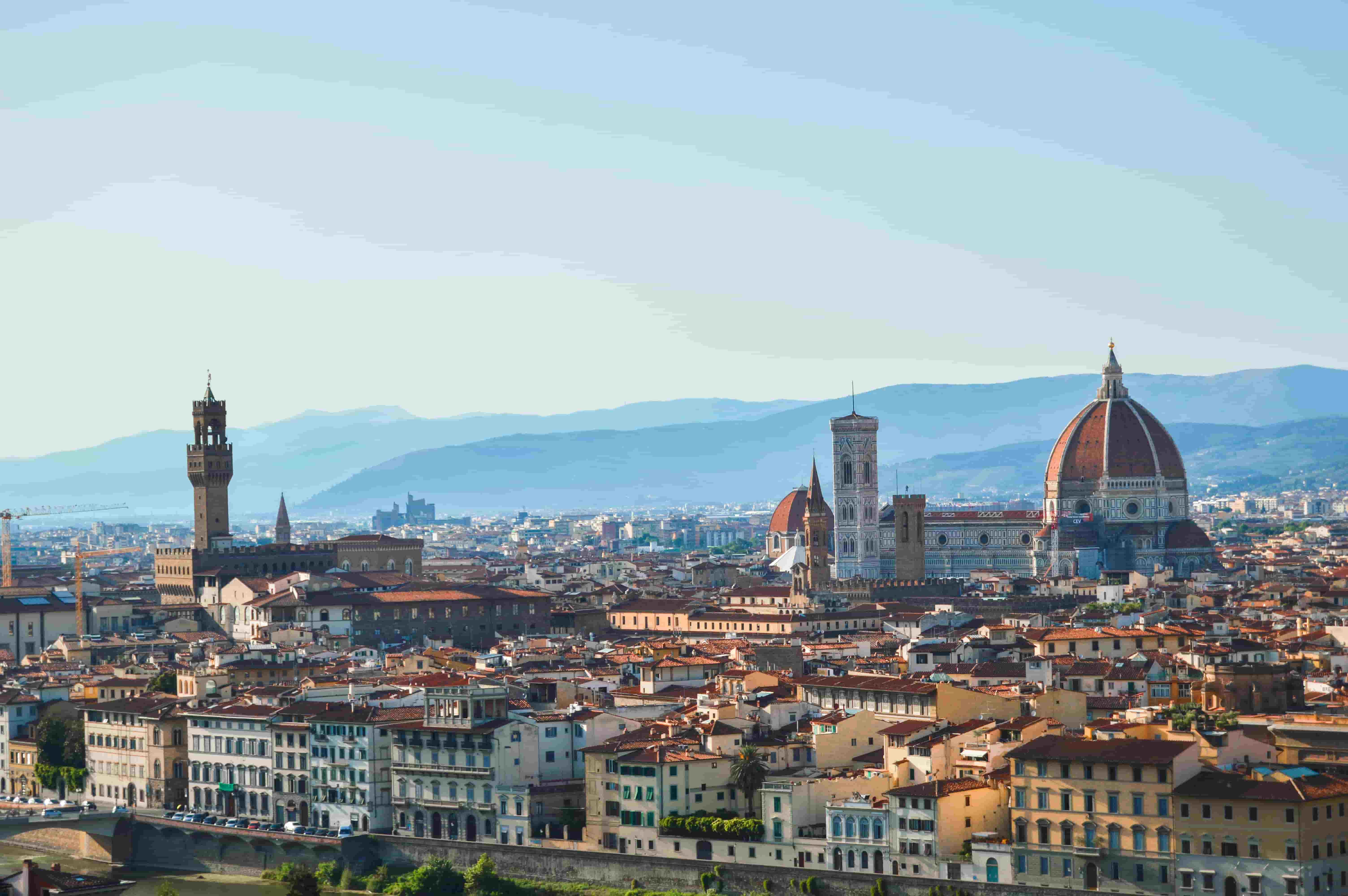 Florencia: norte de italia