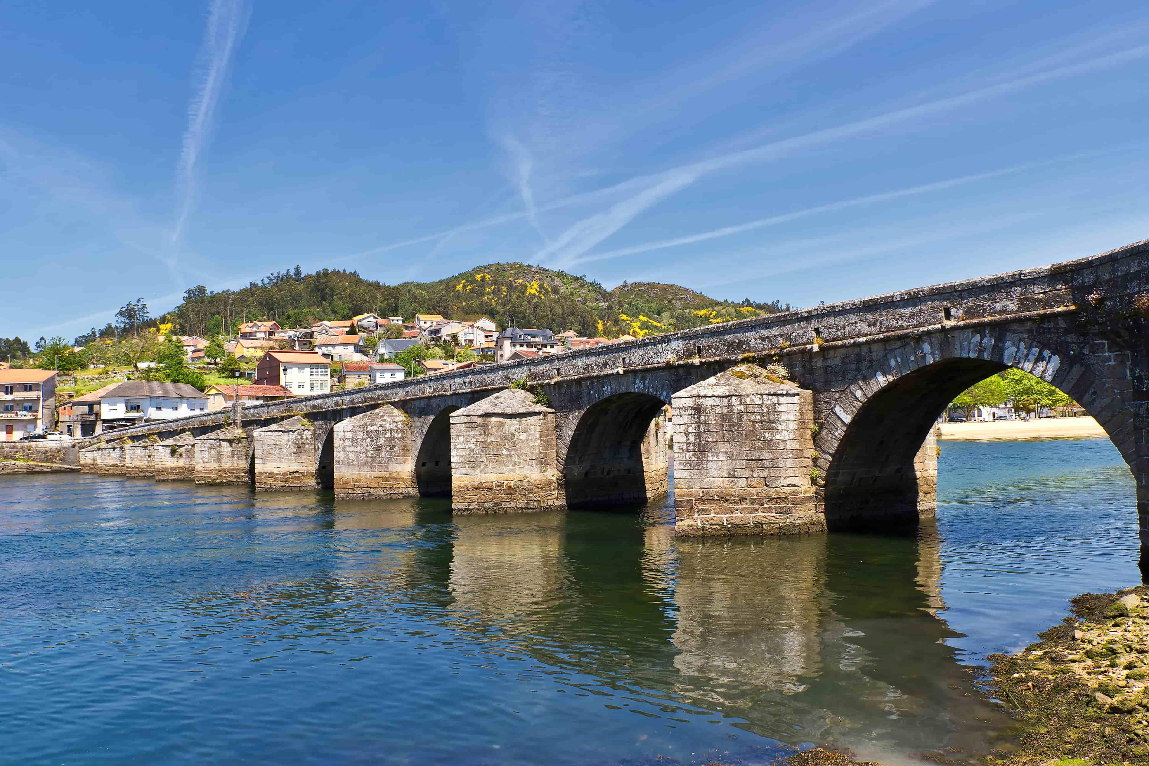 puente medieval - Camino portugués