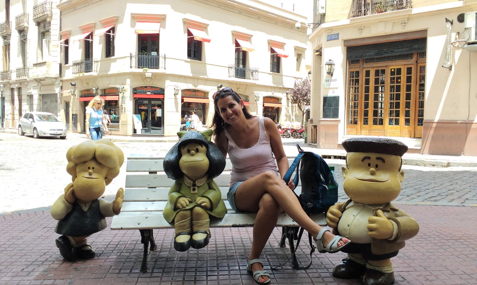 viajar sola argentina