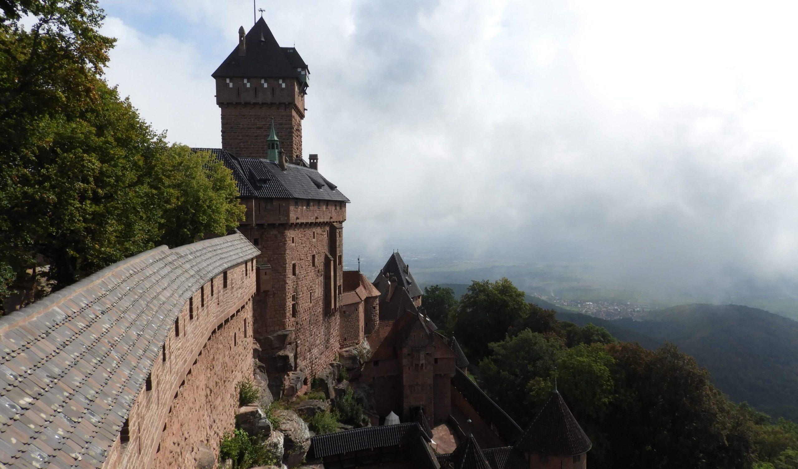 Castillos en Alsacia