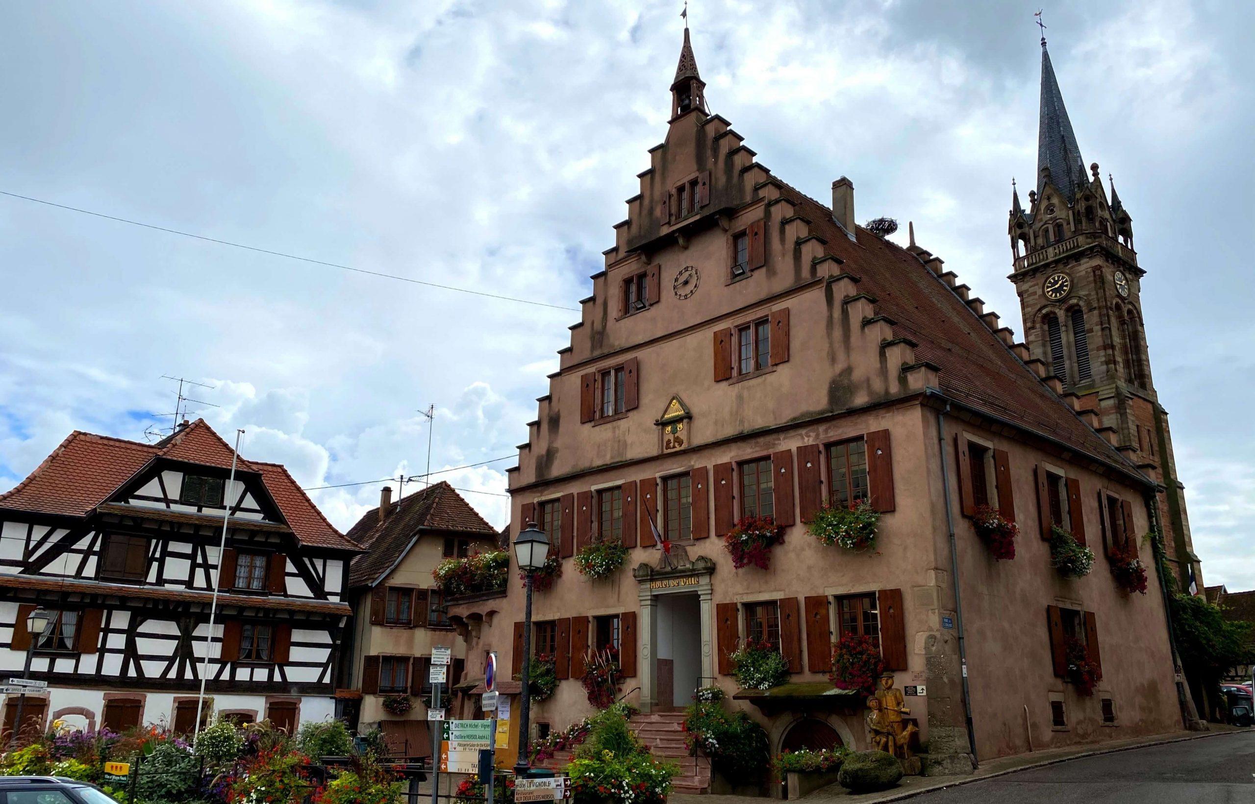 ruta por Alsacia