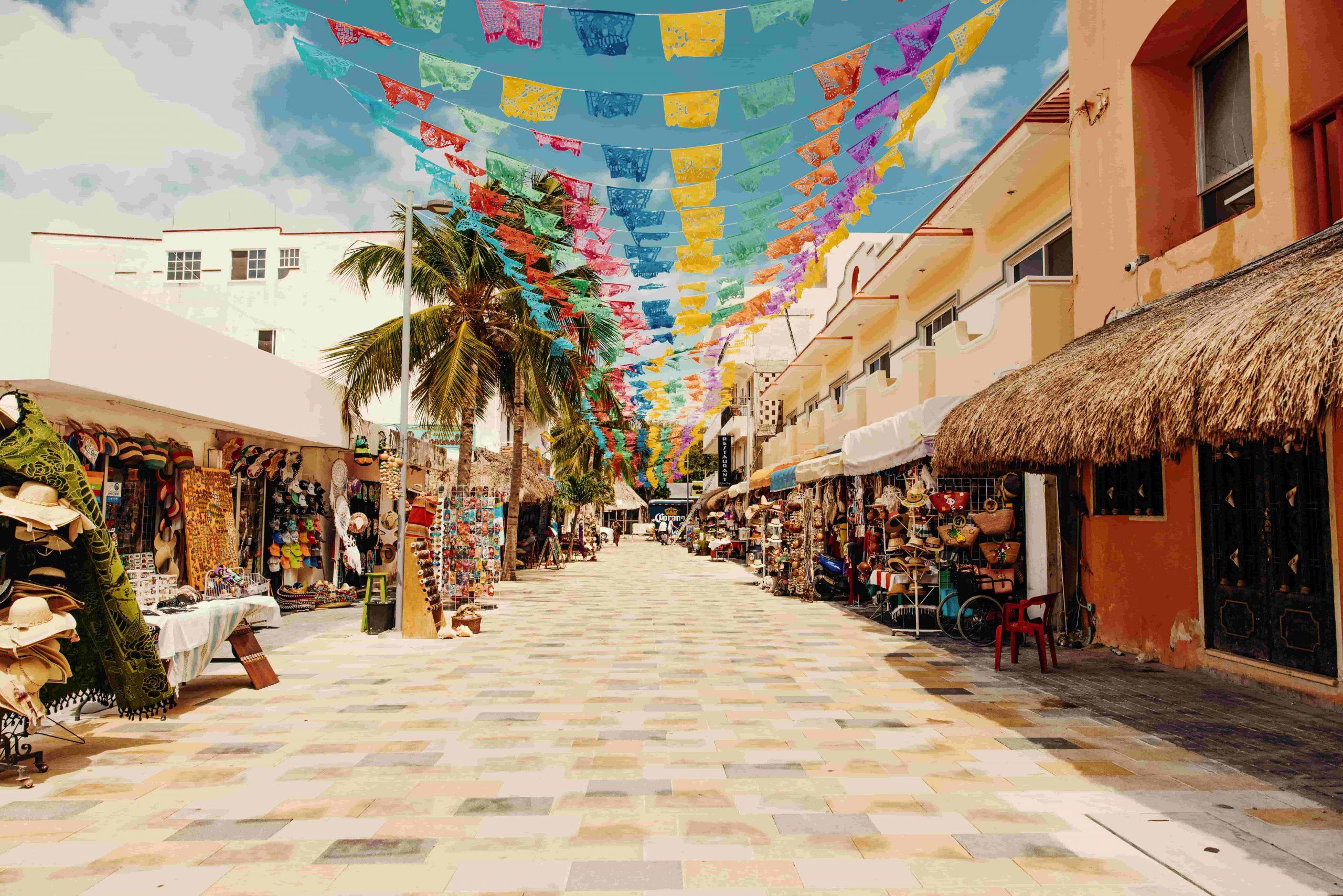 ir de compras riviera maya