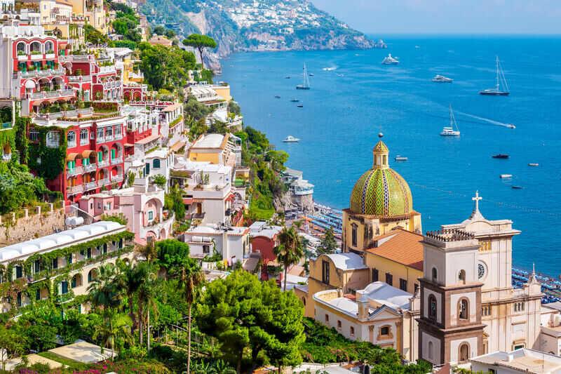 positano italia slow travel