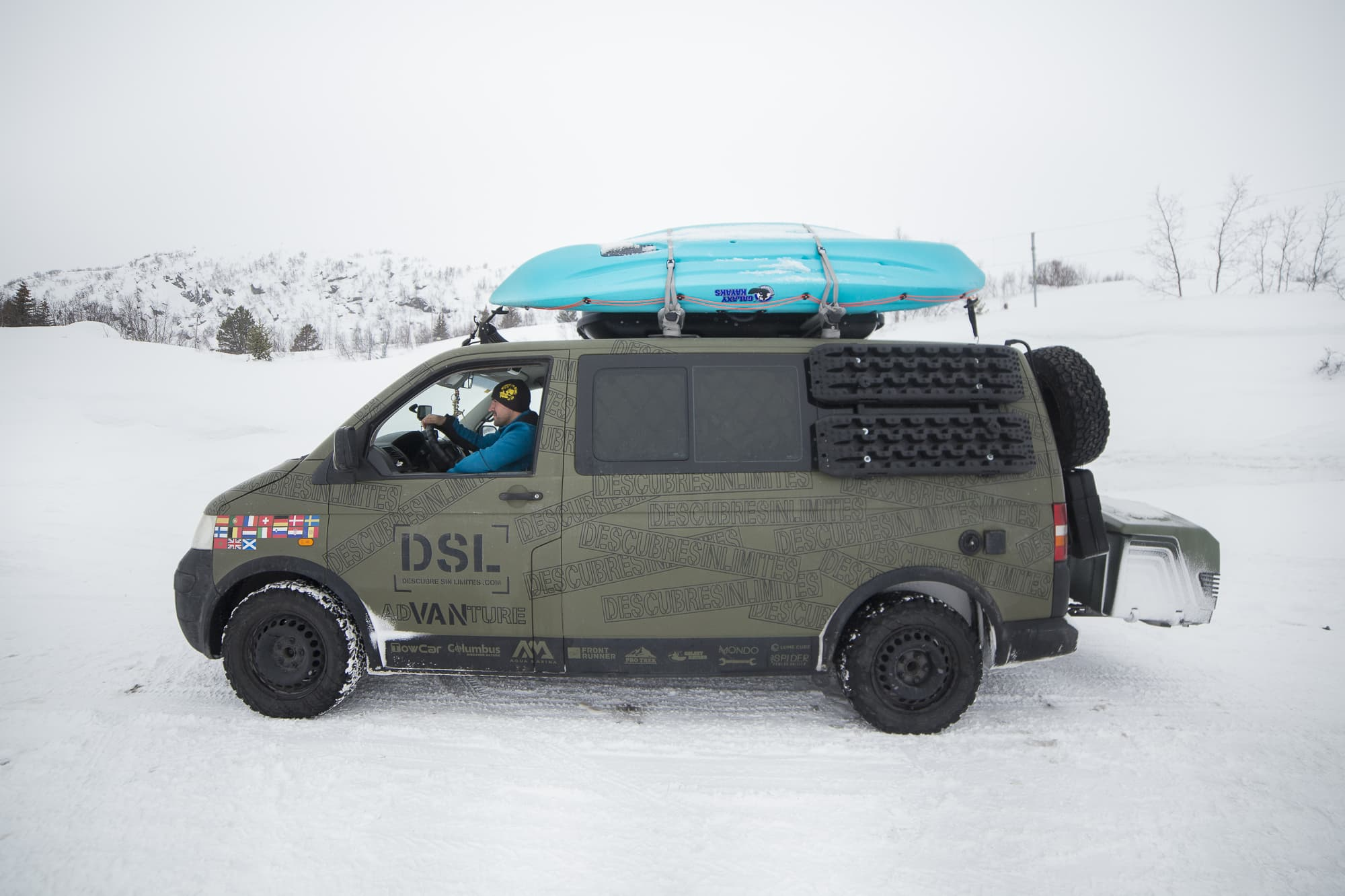 viajar a noruega en furgoneta