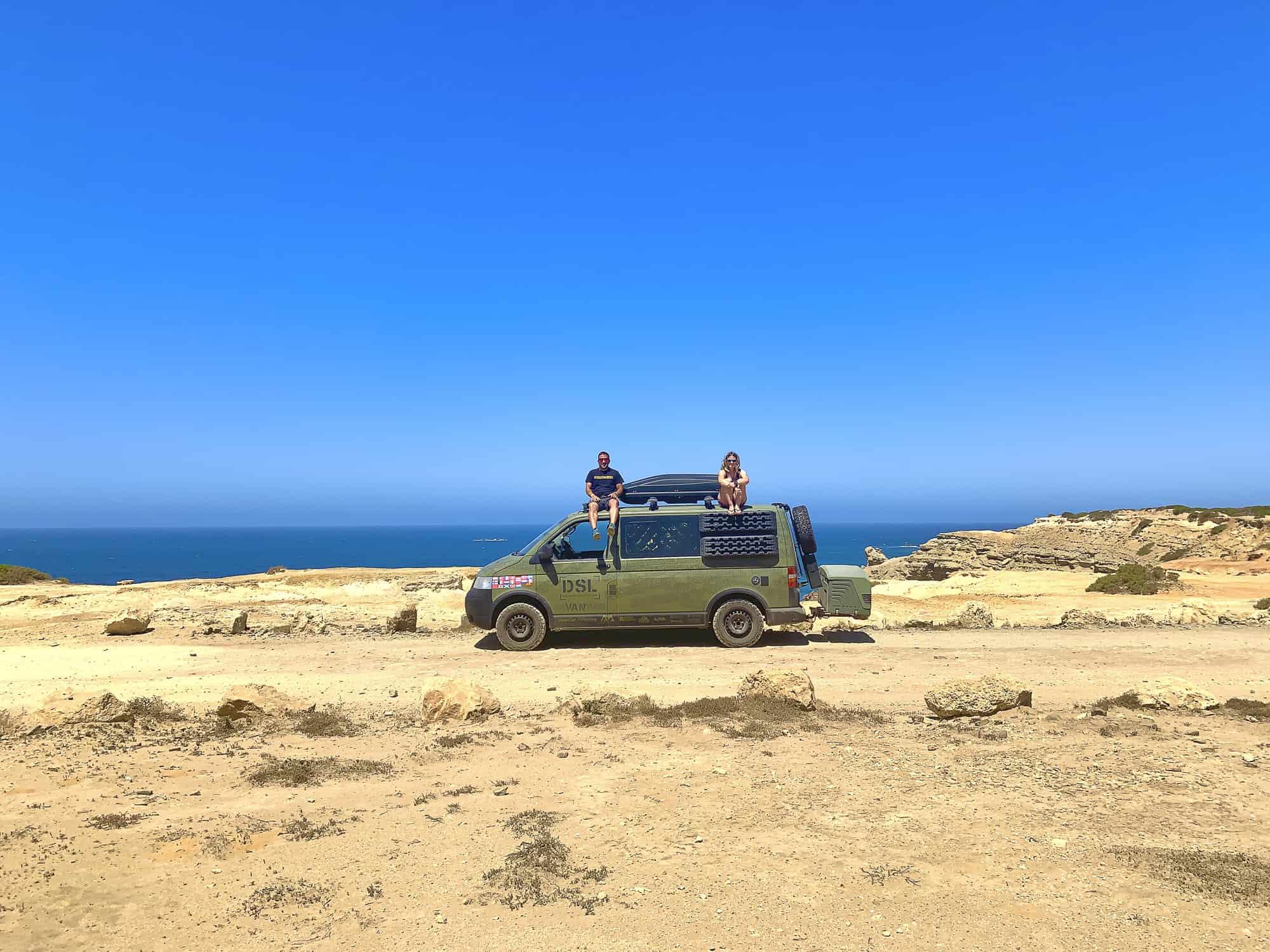 viajar en furgoneta en portugal