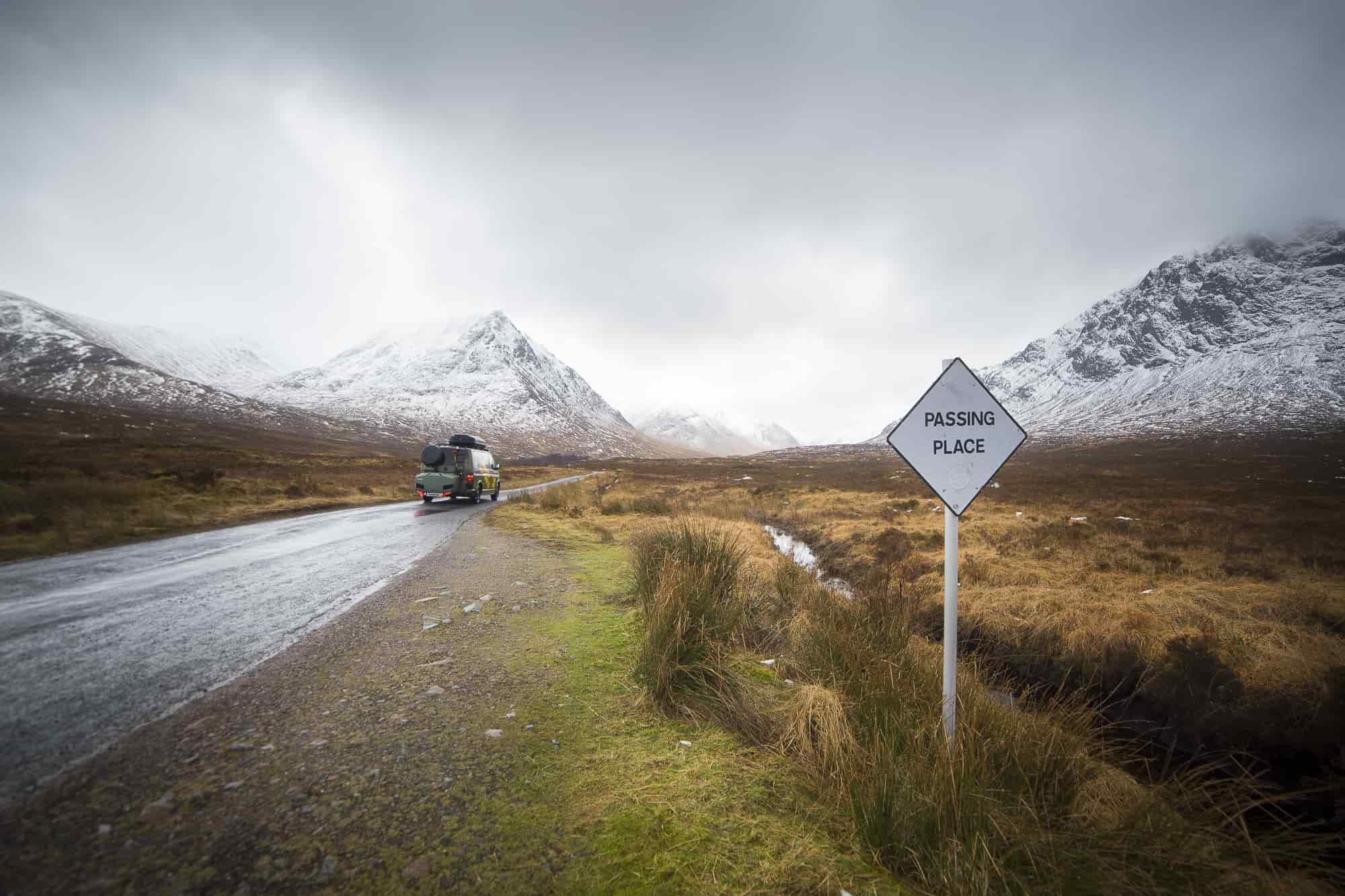 ruta por escocia en furgo