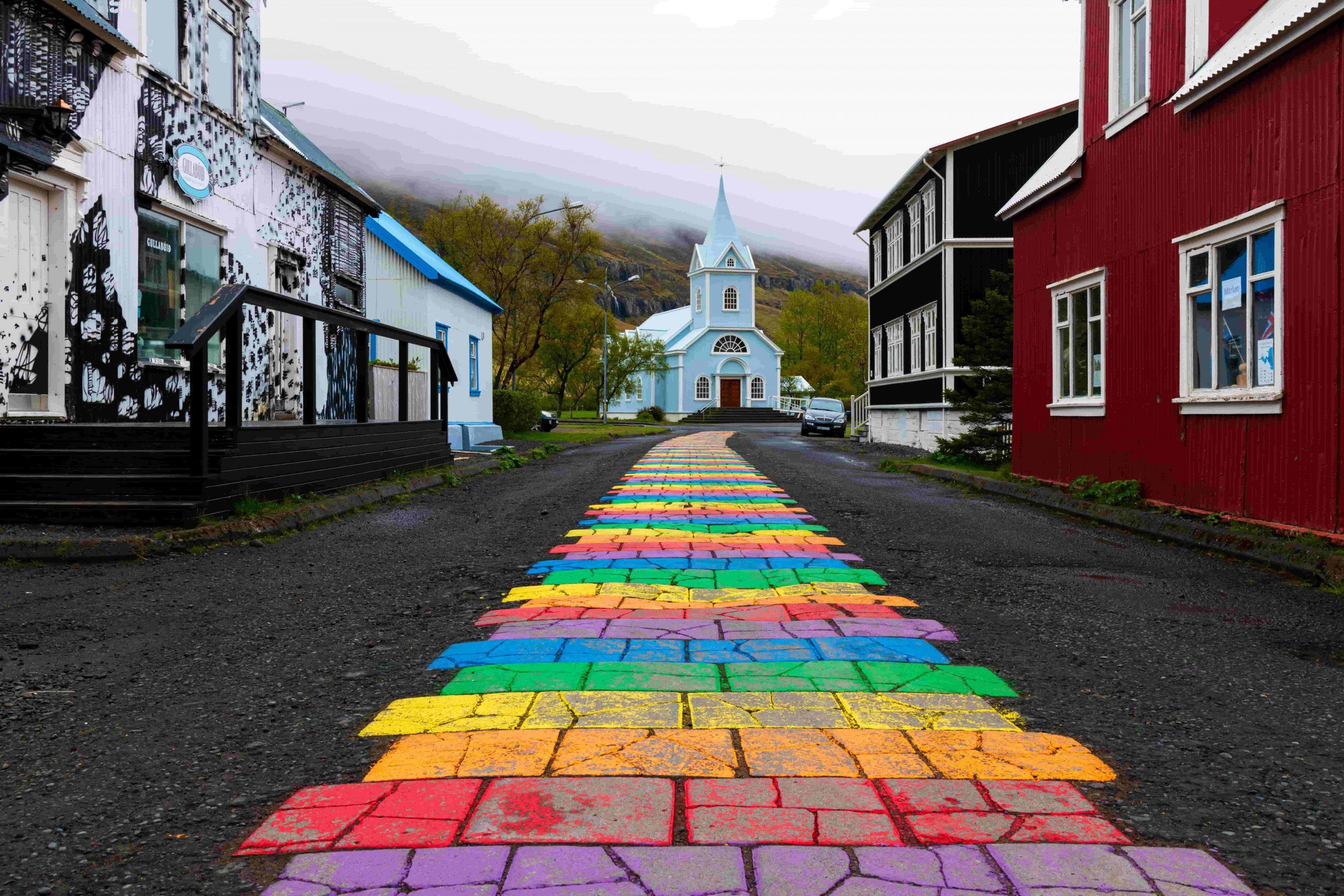 iglesia azul islandia